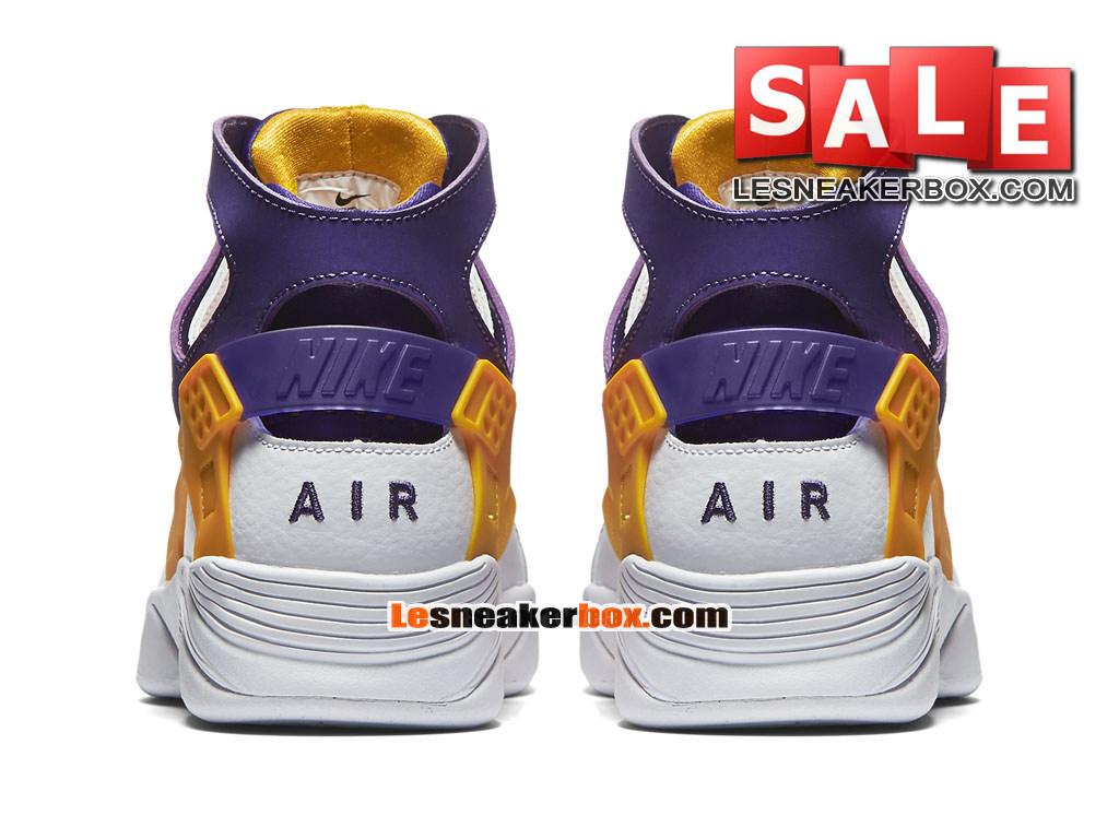 timeless design 17fd7 37221 ... Nike Air Flight Huarache - Men´s Nike Basketball Shoe White Court  Purple
