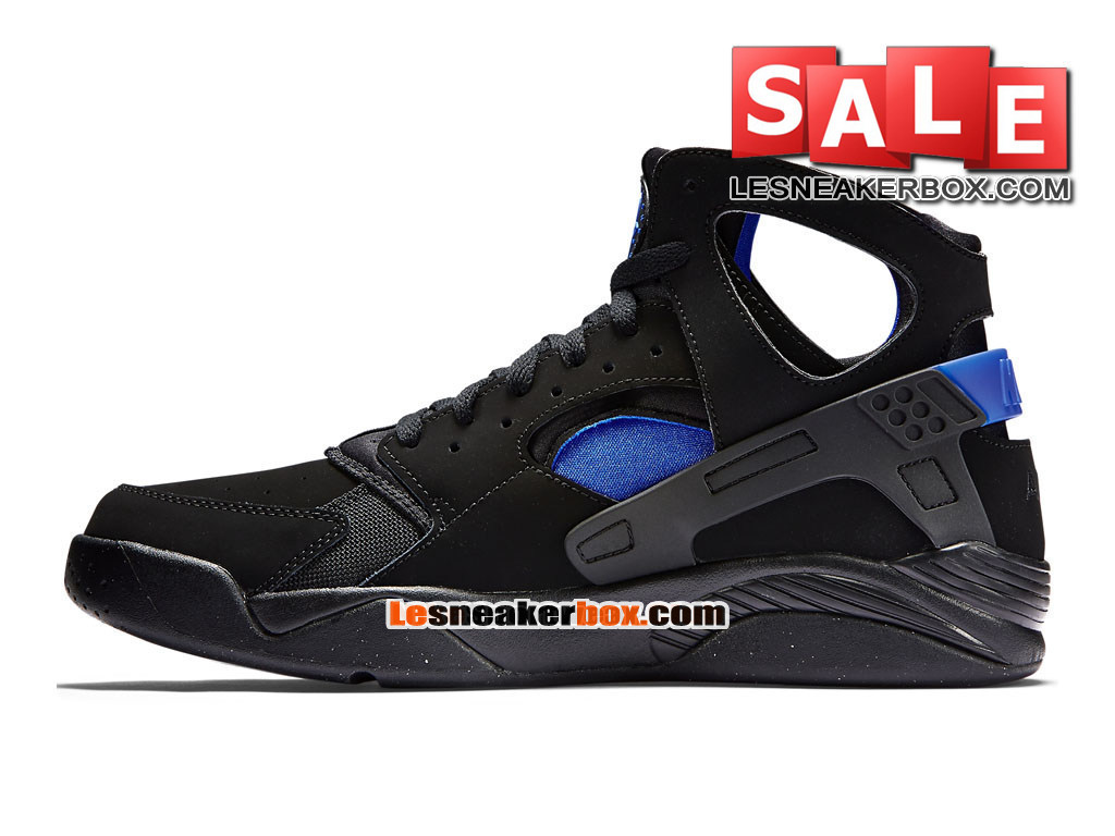 d089860c6109 ... Nike Air Flight Huarache - Men´s Nike Basketball Shoe Black Lyon Blue  705005 ...