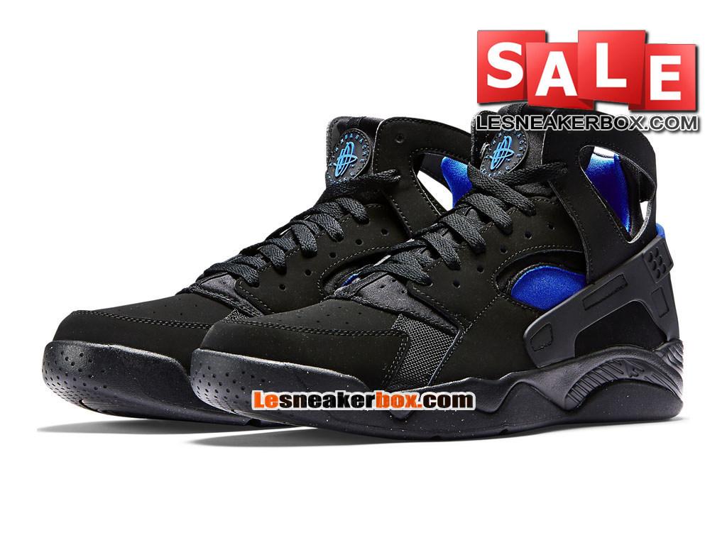 a8522819d16d5 ... Nike Air Flight Huarache - Men´s Nike Basketball Shoe Black Lyon Blue  705005 ...