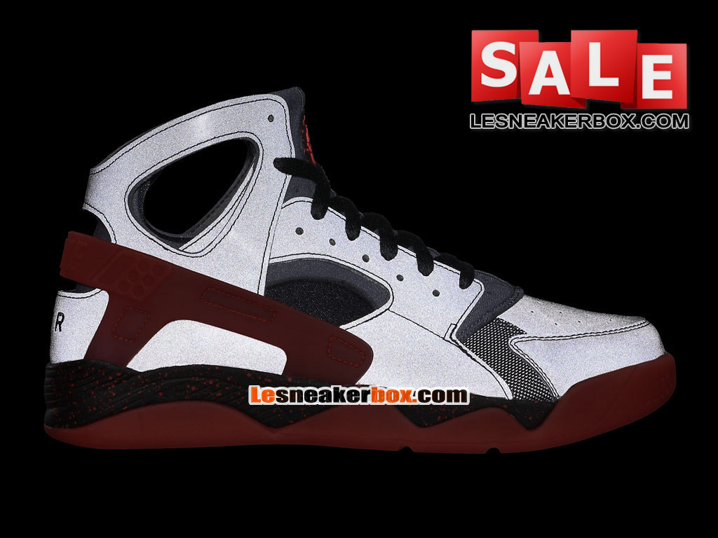 7fdf0e77f26 ... Nike Air Flight Huarache Premium - Men´s Nike Basketball Shoe Black Challenge  Red