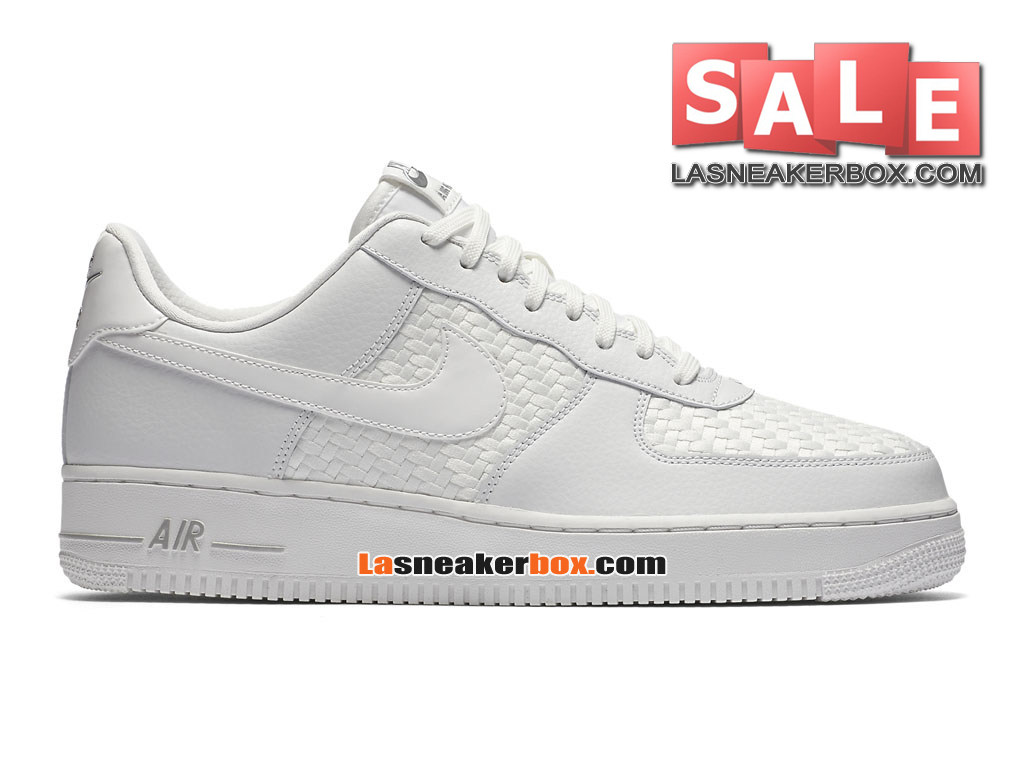 separation shoes 90fde 671ed Nike Air Force 1 07 LV8 Low - Chaussures Nike Sportswear Pas Cher Pour Homme  Blanc ...