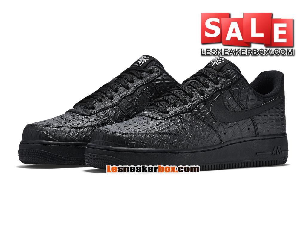 6dac68b6470 ... Nike Air Force 1 07 LV8 Low - Chaussures Nike Sportswear Pas Cher Pour  Homme Noir ...