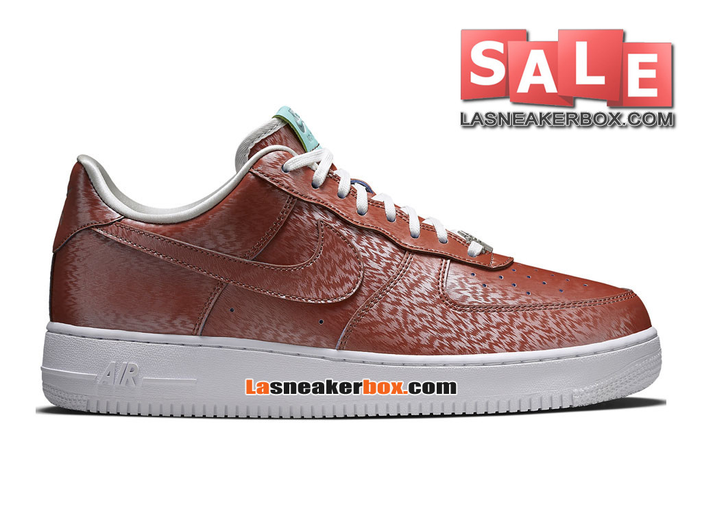 "Nike Air Force 1 ´07 LV8 QS ""Preserved Icons"" - Chaussures Nike Sportswear Pas Cher Pour Homme Cuivre/Turquoise/Blanc 812297-800"