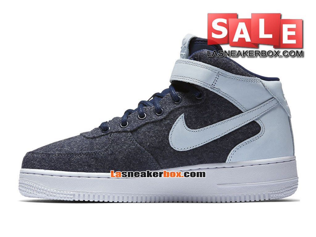 outlet store 7c0ef 8fdc6 ... Nike Air Force 1 ´07 Mid Leather Premium - Chaussure Nike Sportswear Pas  Cher Pour ...