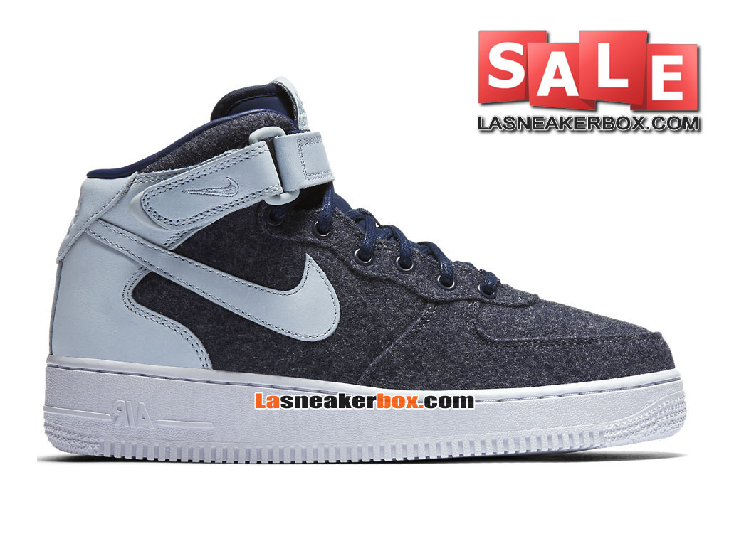 the best attitude 00ab7 1840b ... Nike Air Force 1 ´07 Mid Leather Premium - Chaussure Nike Sportswear  Pas Cher Pour ...