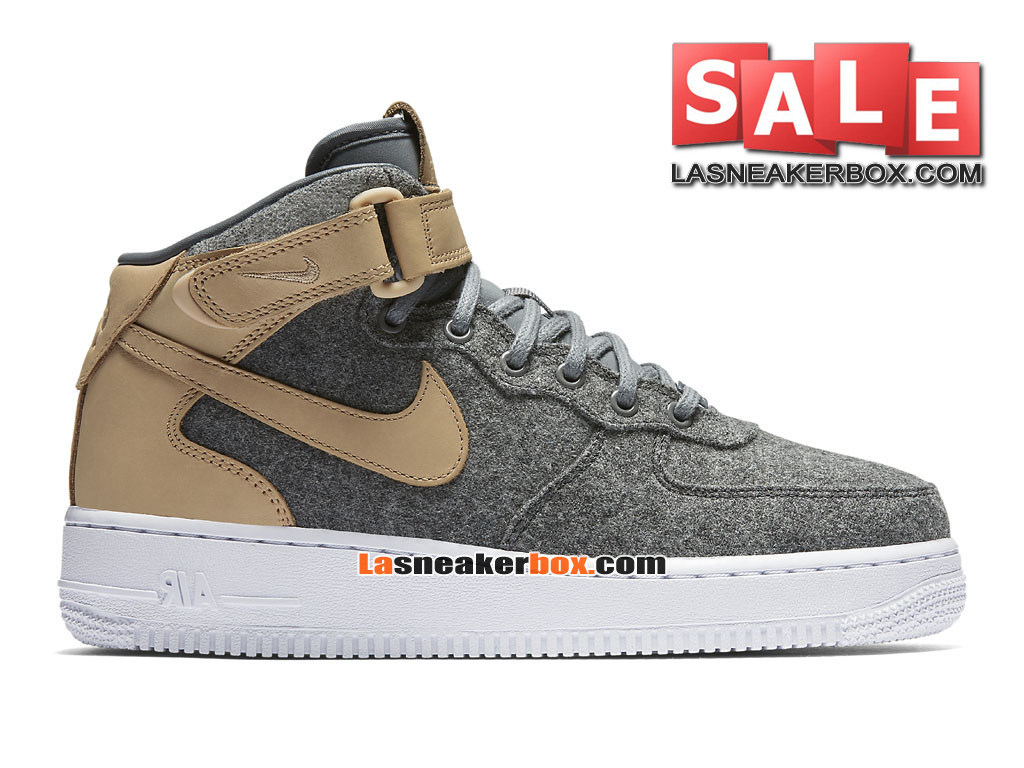 the best attitude 9b161 152cb ... Nike Air Force 1 ´07 Mid Leather Premium - Chaussure Nike Sportswear  Pas Cher Pour ...