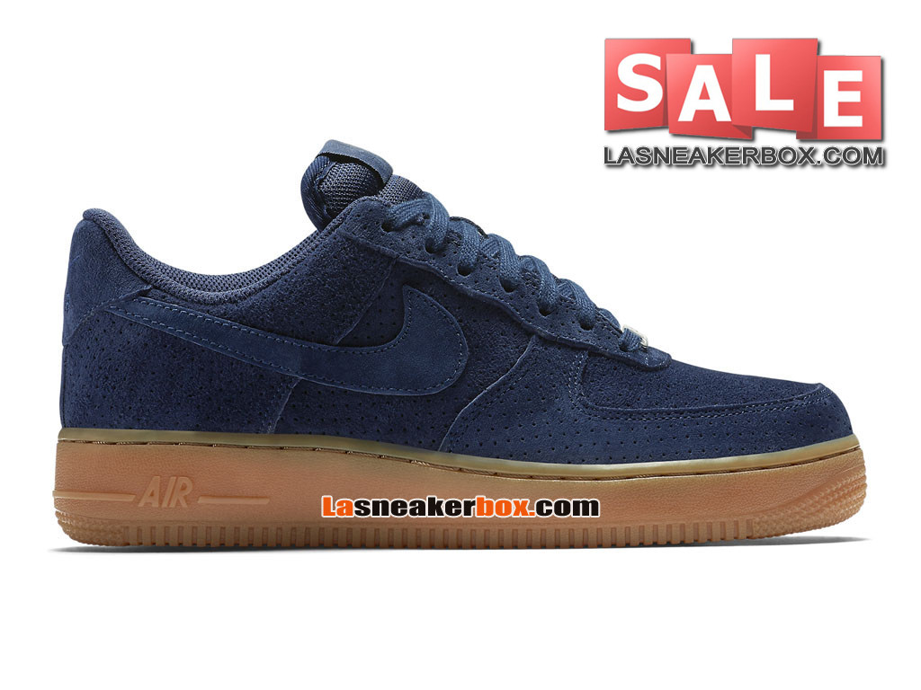 Nike Air Force 1 ´07 Suede Low - Men´s Nike Sportswear Shoe Midnight