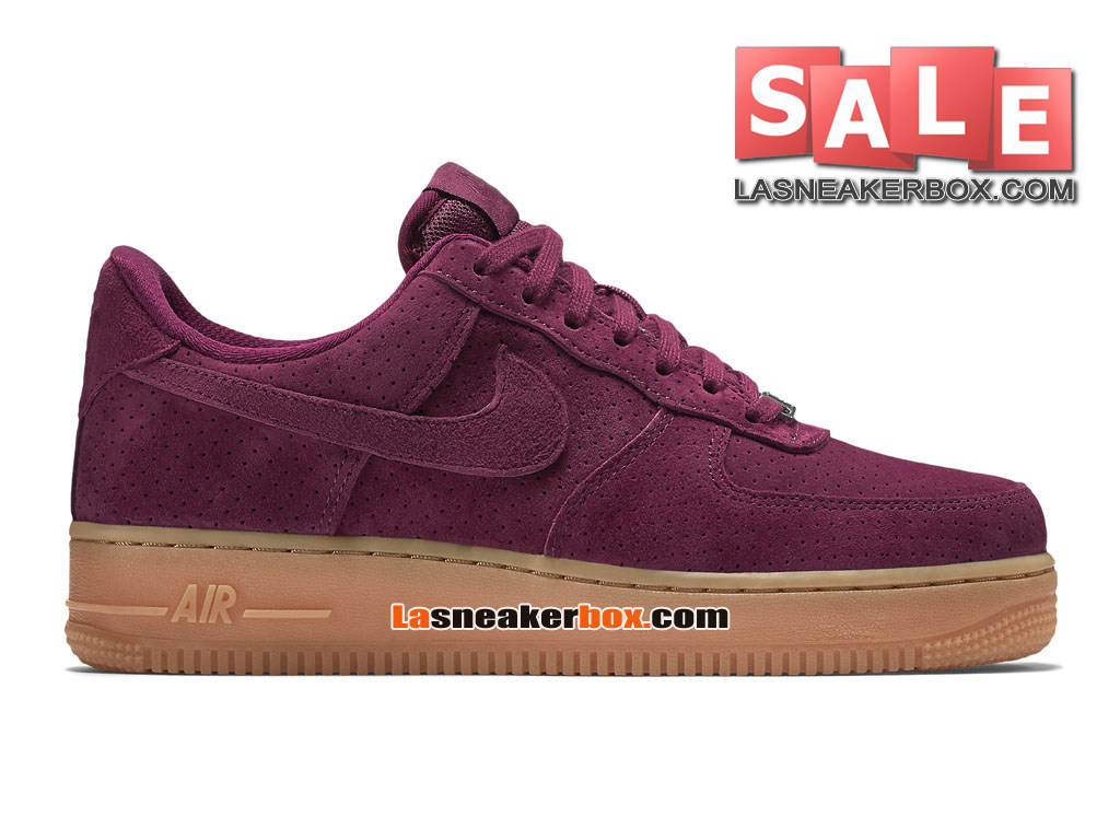 outlet store e6bf4 eac98 Nike Air Force 1 ´07 Suede Low - Men´s Nike Sportswear Shoe Deep