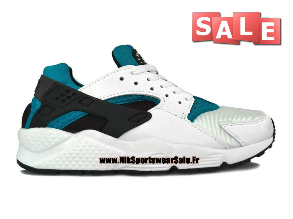 61c31c5d3e51 Nike Air Huarache - Men´s Nike Officiel Shoes White Navy Blue-Black ...