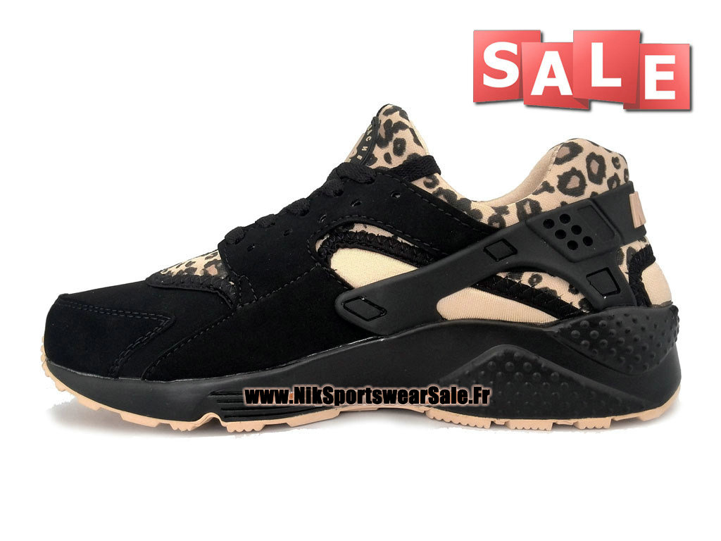 9727106a508c4 ... Nike Air Huarache - Men´s Nike Officiel Shoes Black Leopard Print  318429- ...
