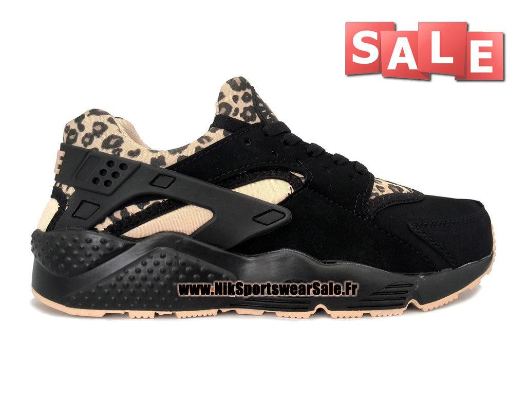premium selection 1ec65 f0c90 Nike Air Huarache - Men´s Nike Officiel Shoes Black Leopard Print 318429-  ...