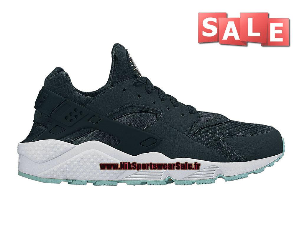 60135b5a602 Nike Air Huarache GS - Chaussure Nike Sportswear Pas Cher Pour Femme Enfant  Marine arsenal ...