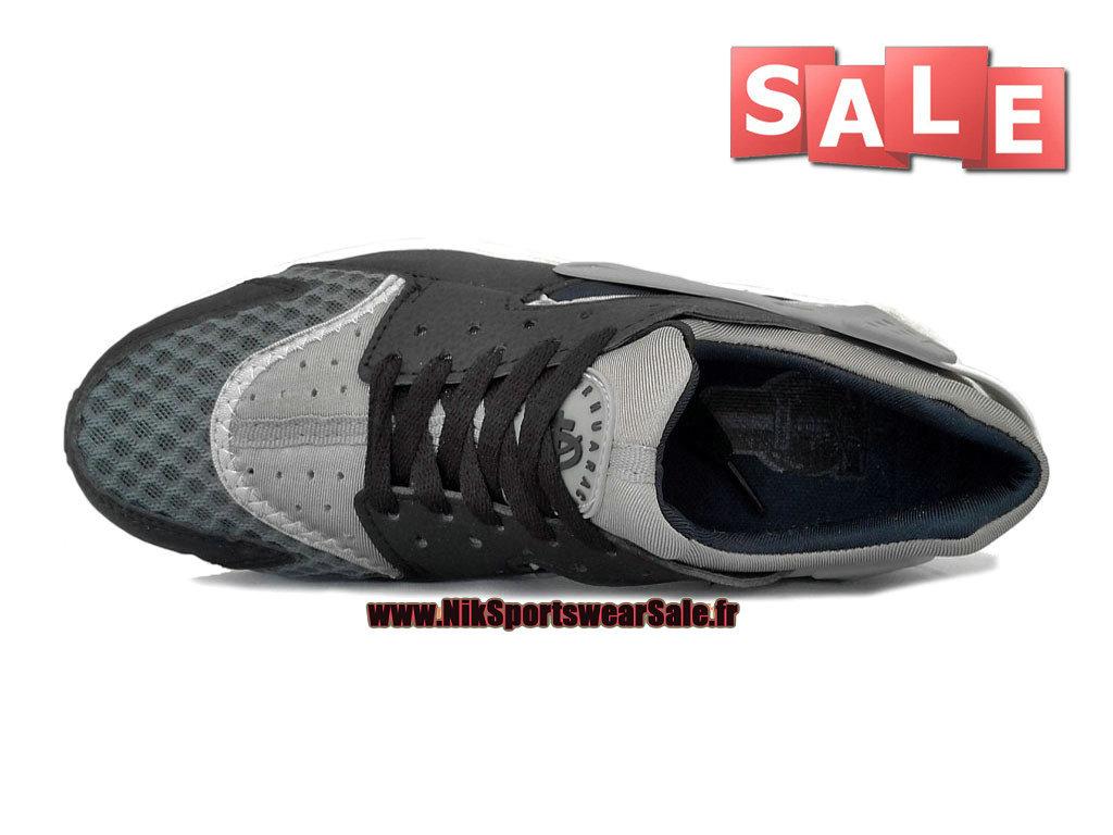 quality design 977fc 45f20 ... Nike Air Huarache GS - Chaussure Nike Sportswear Pas Cher Pour Femme Garcon  Noir  ...