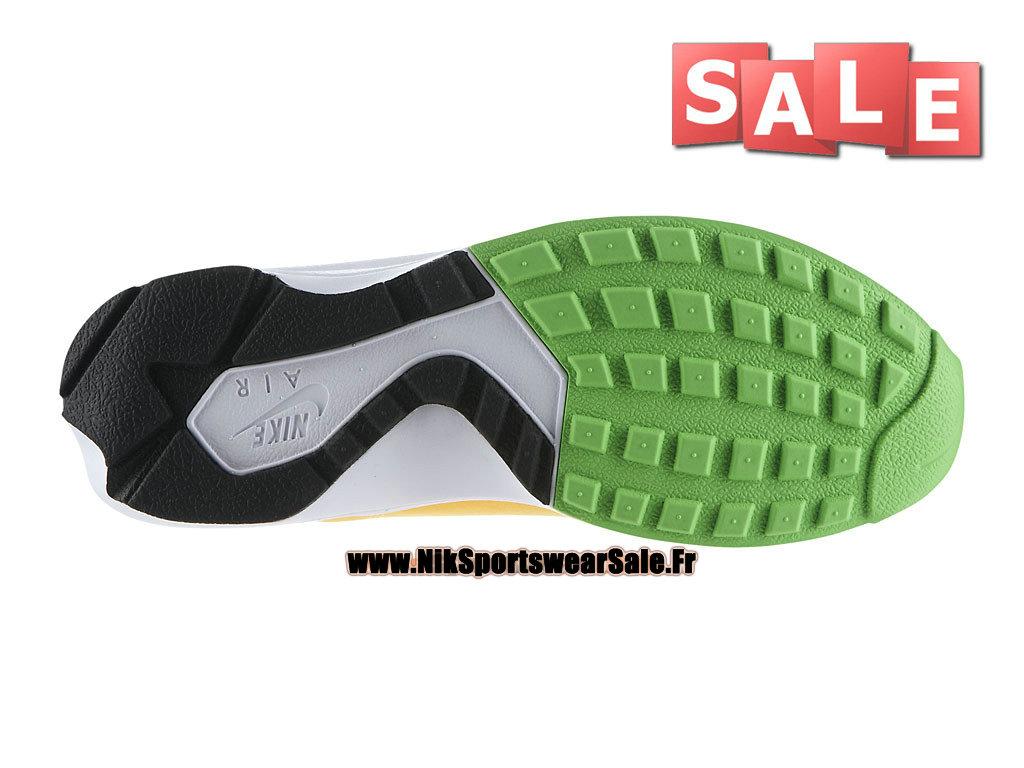 new arrival 95fd9 9da6b ... Nike Air Huarache Light - Chaussures Nike Officiel Pas Cher Pour Homme  Mangue atomique Blanc
