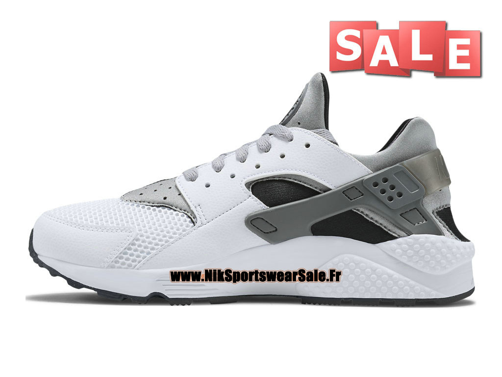 c0f4904ebdd9 ... Nike Air Huarache Run - Men´s Nike Officiel Shoes White Cool Grey  ...