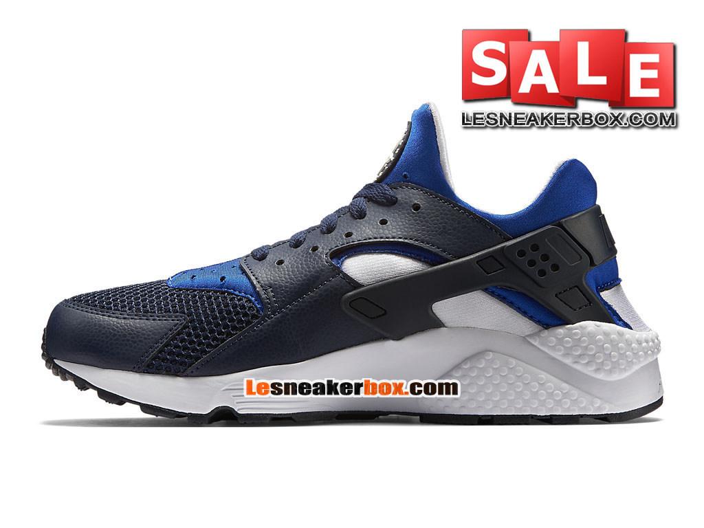 Nike Air Huarache Run Chaussure Nike Sportswear Pas Cher Pour Homme Bleu nuit marineBlancBleu de Lyon 318429 442 1612092719 Officiel de Chaussure