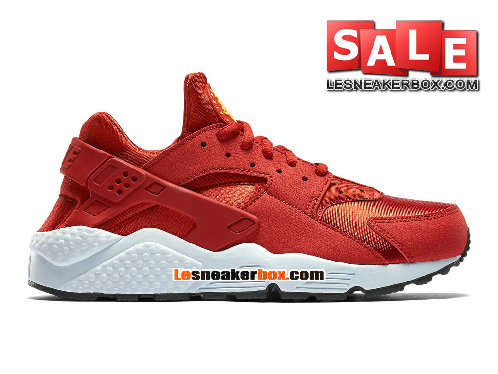 nike air huarache run chaussure nike sportswear pas cher pour homme rouge cinabre fibre de. Black Bedroom Furniture Sets. Home Design Ideas