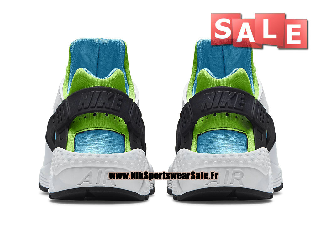 check out 38af2 040cd ... Nike Air Huarache Run - Men´s Nike Officiel Shoes White Clearwater Flash  ...
