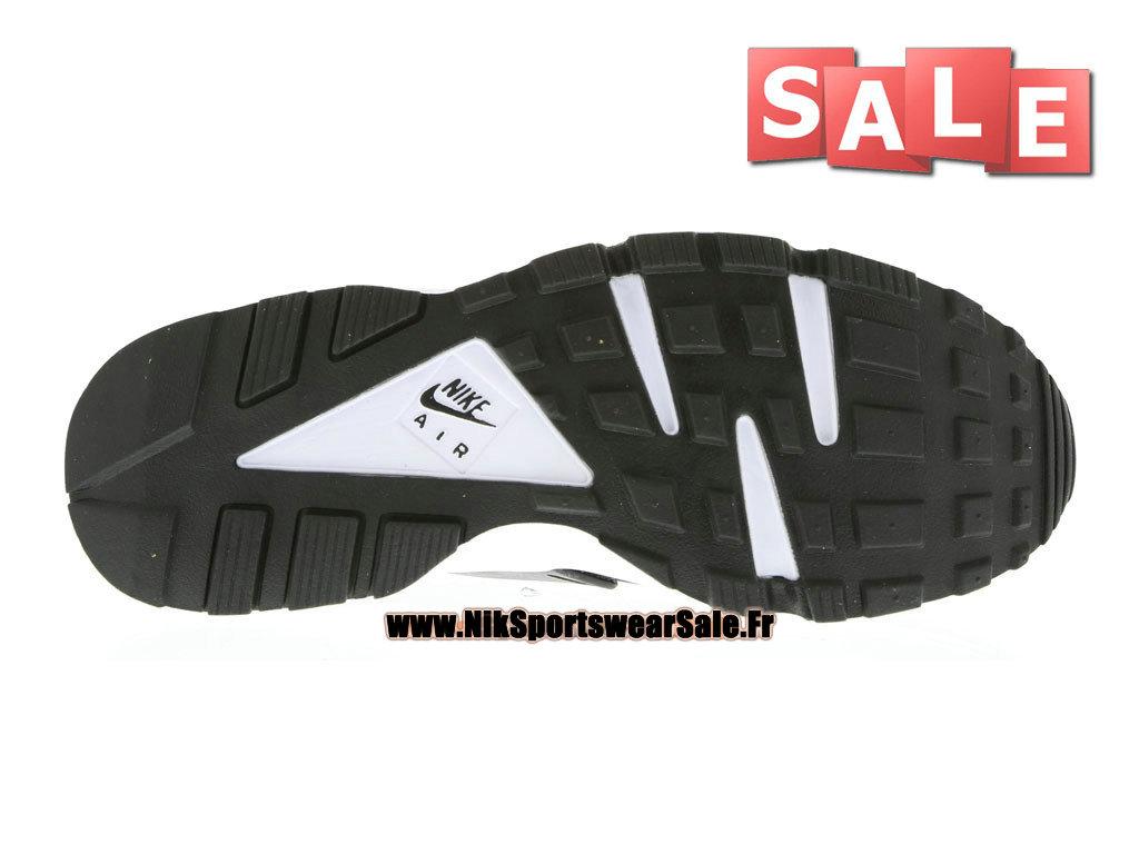 quality design 94387 c71fe ... Nike Air Huarache Run - Men´s Nike Officiel Shoes White Black Pure ...