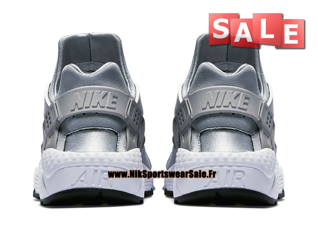 huge discount 35d64 d9541 ... Nike Air Huarache Run - Men´s Nike Officiel Shoes Wolf Grey White-