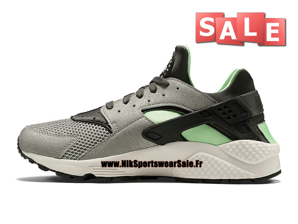 a8b2abc1c075 ... Nike Air Huarache Run - Men´s Nike Officiel Shoes Mine Grey Mid Fog ...