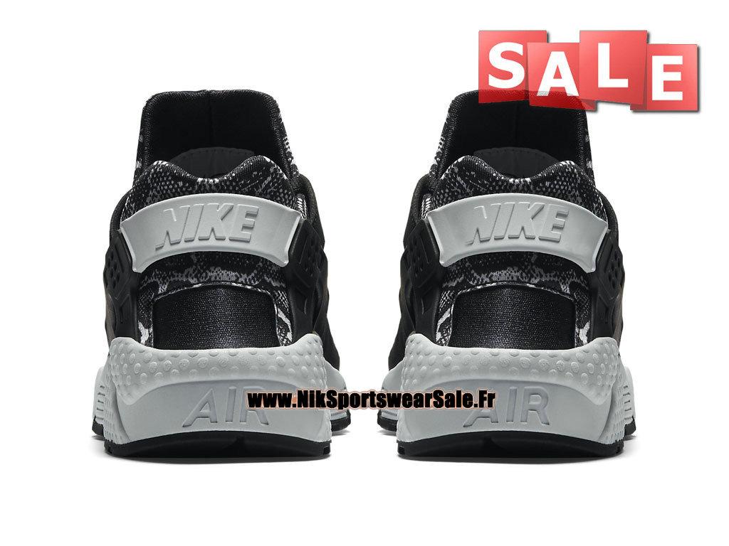 hot sale online d82d9 545e5 ... Nike Air Huarache Run Print - Men´s Nike Officiel Shoes Black Pure  Platinum