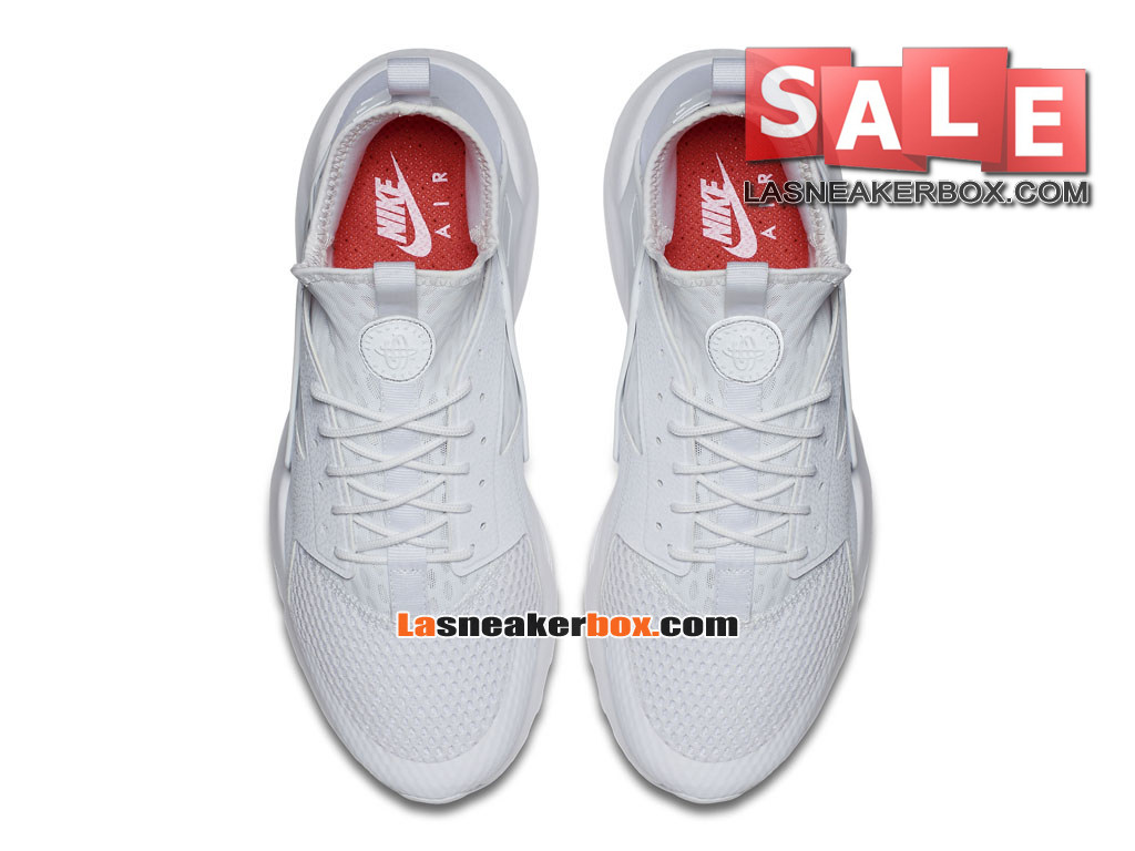 huge discount bc321 e6f66 ... Nike Air Huarache Run Suede - Men´s Nike Sportswear Shoe White/White  833147 ...