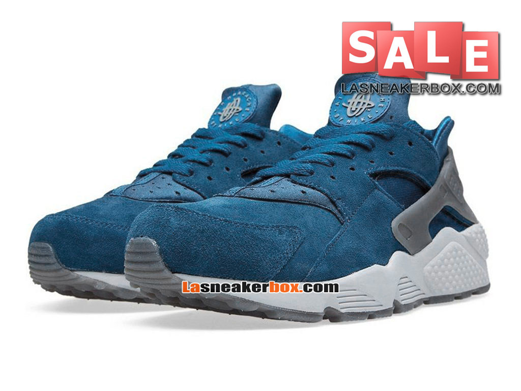 premium selection 77f2e b253e ... Nike Air Huarache Run Suede - Men´s Nike Sportswear Shoe Blue  Force Cool ...