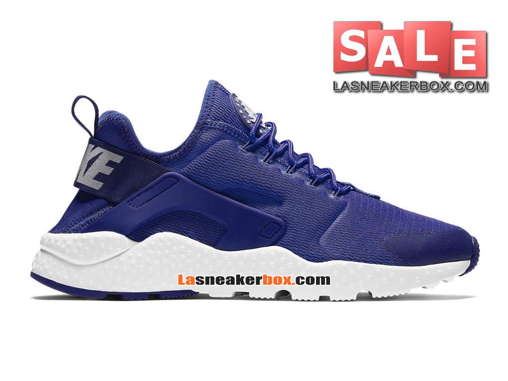 sports shoes d4a95 9bad7 Loading zoom. Nike Air Huarache Ultra Breathe - Chaussures Nike Pas Cher  Pour Homme Bleu Royal ...