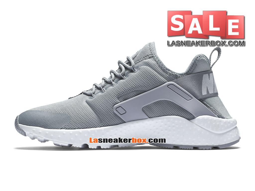 pick up 46ae1 fdfa1 ... Nike Air Huarache Ultra Breathe - Chaussures Nike Pas Cher Pour Homme  DiscretBlanc 819151 ...