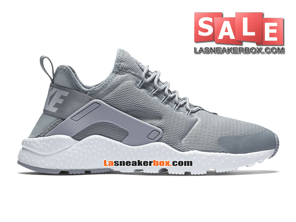premium selection 18b39 39ebe Nike Air Huarache Ultra Breathe - Chaussures Nike Pas Cher Pour Homme  Discret Blanc 819151 ...