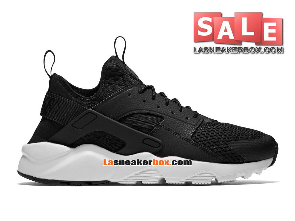 best sneakers 8bb17 998c9 Nike Air Huarache Run Suede - Men´s Nike Sportswear Shoe Black White 833147