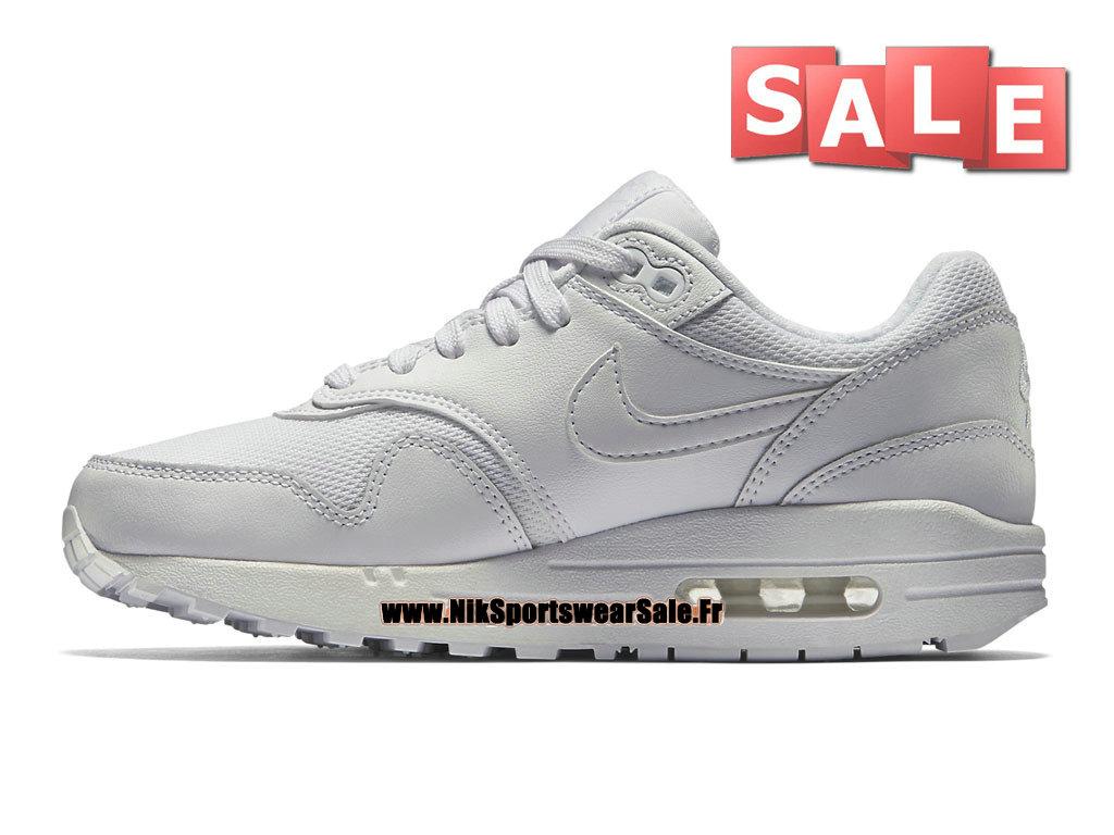 cheaper 43969 93b1e ... Nike Air Max 1 87 GS - Chaussures Nike Sportswear Pas Cher Pour Femme   ...