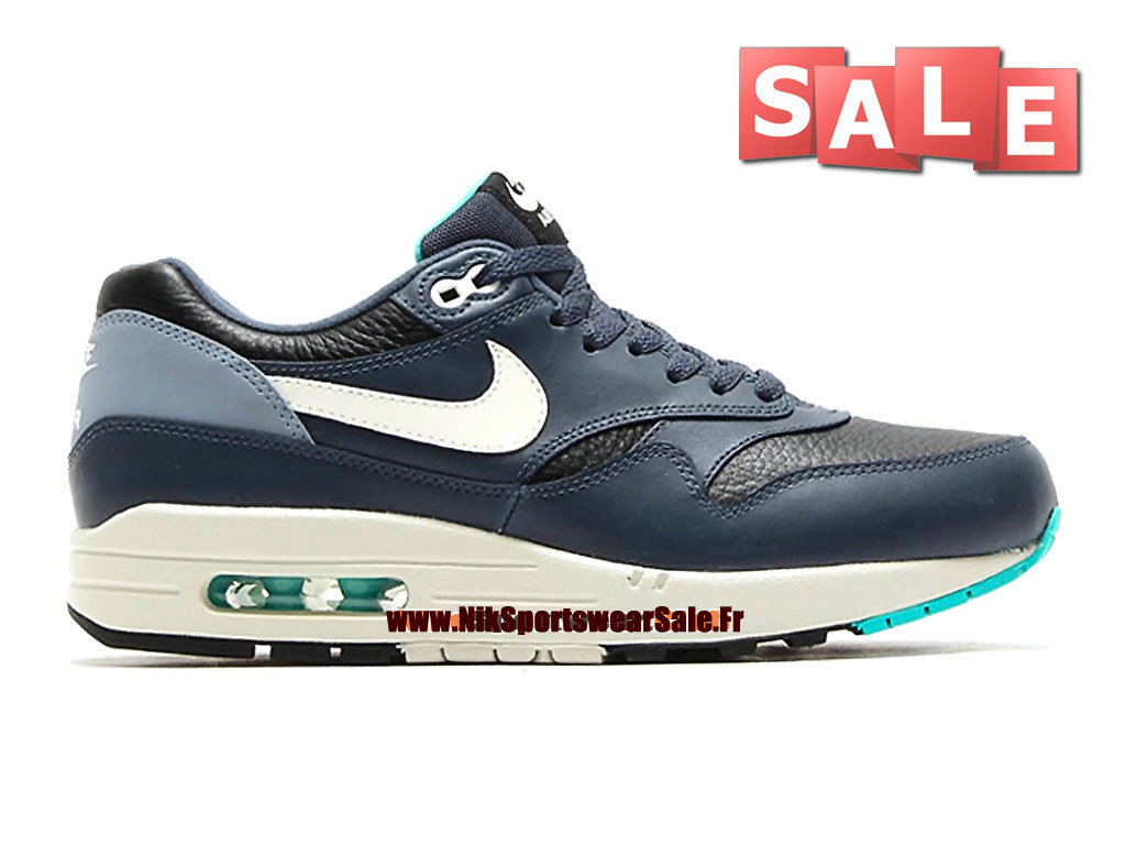best service abcf1 a938c Nike Air Max 1 87 Leather - Men´s Nike Sportswear Shoes Black  ...