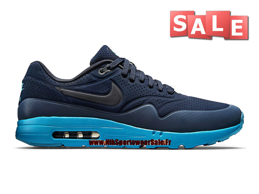 sports shoes 9c318 f694b Nike Air Max 1 Ultra Moire - Men´s Nike Sportswear Shoe Midnight Navy
