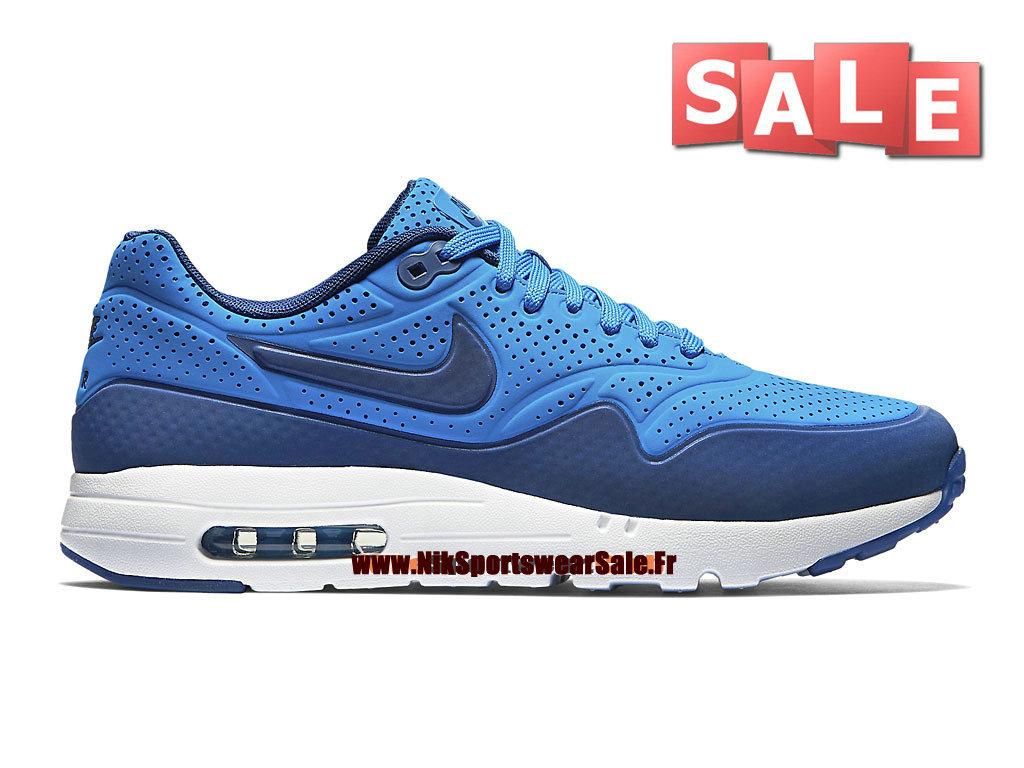 cheaper a8f47 74f31 Nike Air Max 1 Ultra Moire - Chaussure Nike Sportswear Pas Cher Pour Homme  Bleu photo