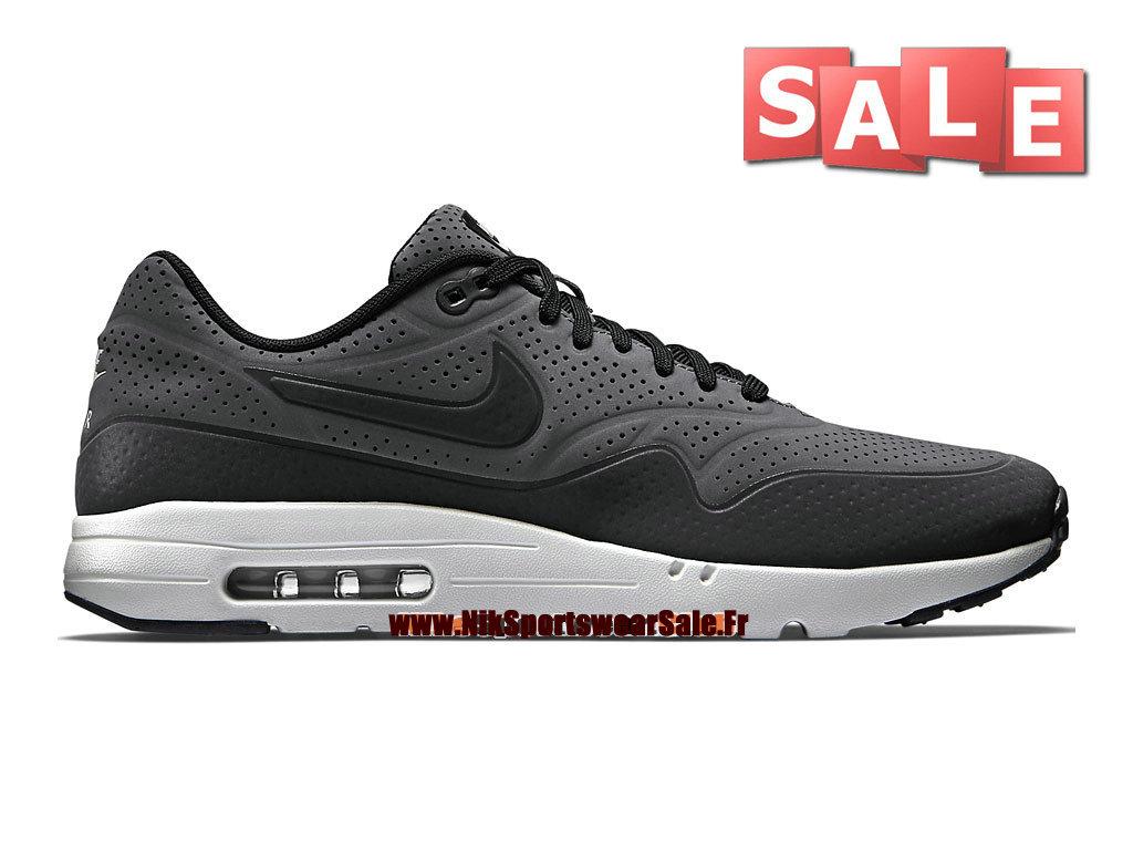 best sneakers 4e516 0b35f Nike Air Max 1 Ultra Moire - Chaussure Nike Sportswear Pas Cher Pour Homme  Gris foncé