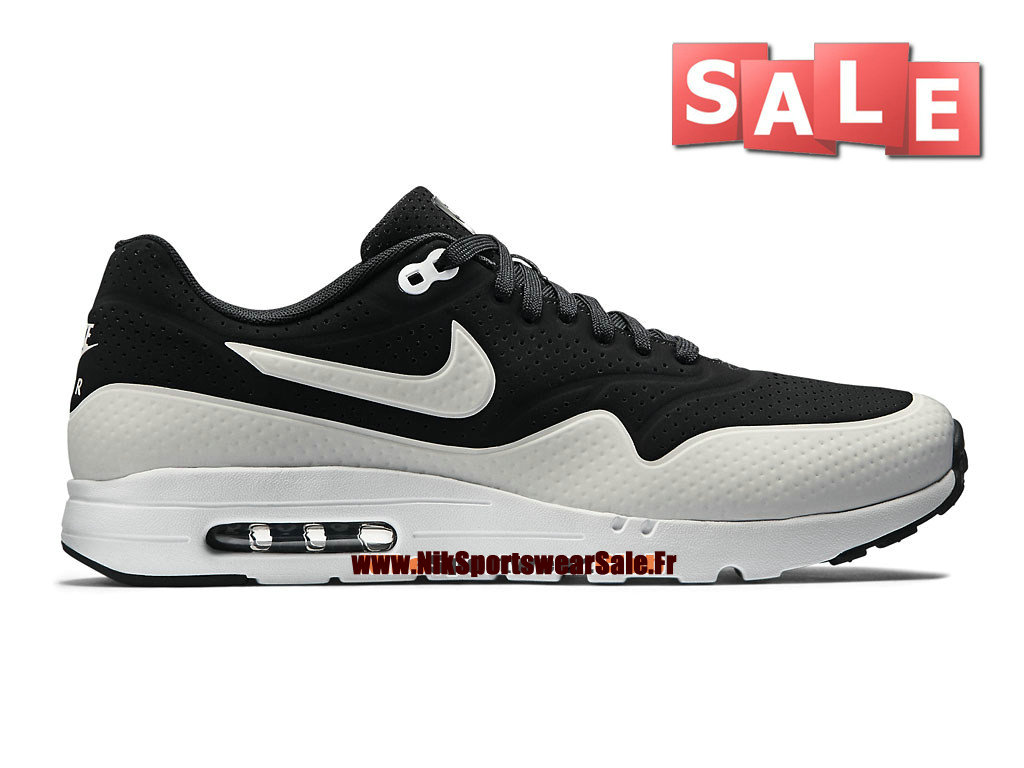 Nike Air Max 1 Ultra Moire Homme Noir Blanc Boutique