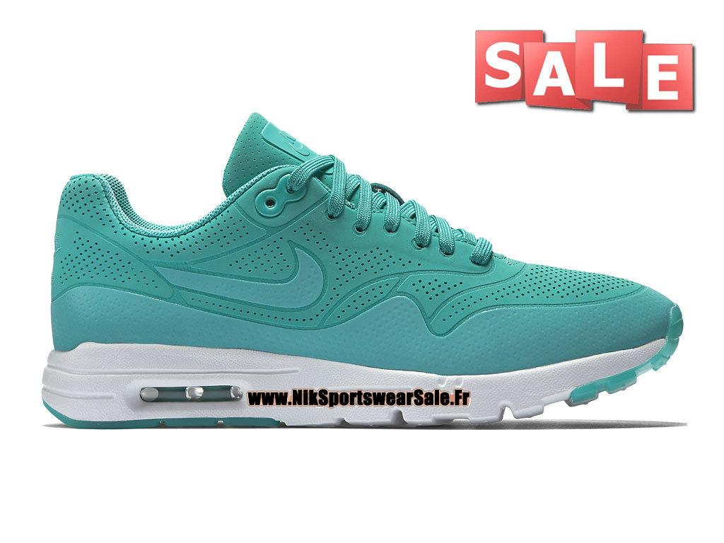cheaper 79aa7 a49aa Nike Air Max 1 Ultra Moire GS - Chaussure Nike Sportswear Pas Cher Pour  Femme
