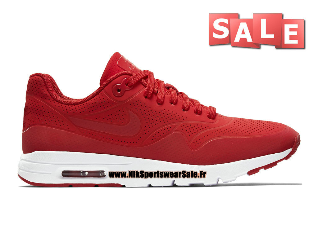 meet 340ea 58b1a Nike Air Max 1 Ultra Moire GS - Chaussure Nike Sportswear Pas Cher Pour  Femme  ...