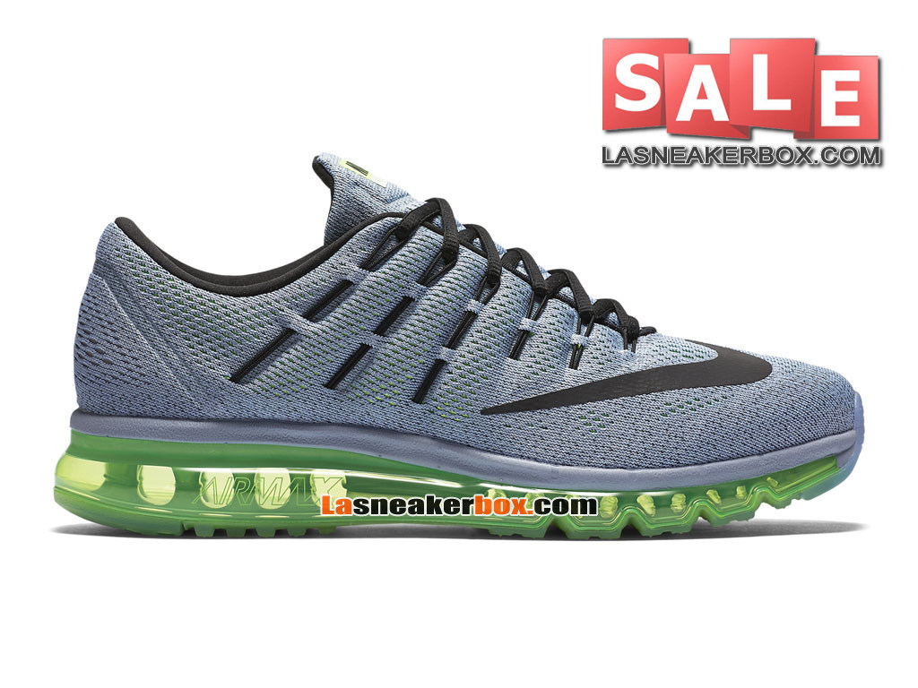 promo code d4e28 4f307 Nike Air Max 2016 - Chaussure Nike Running Pas Cher Pour Homme Bleu-gris   ...