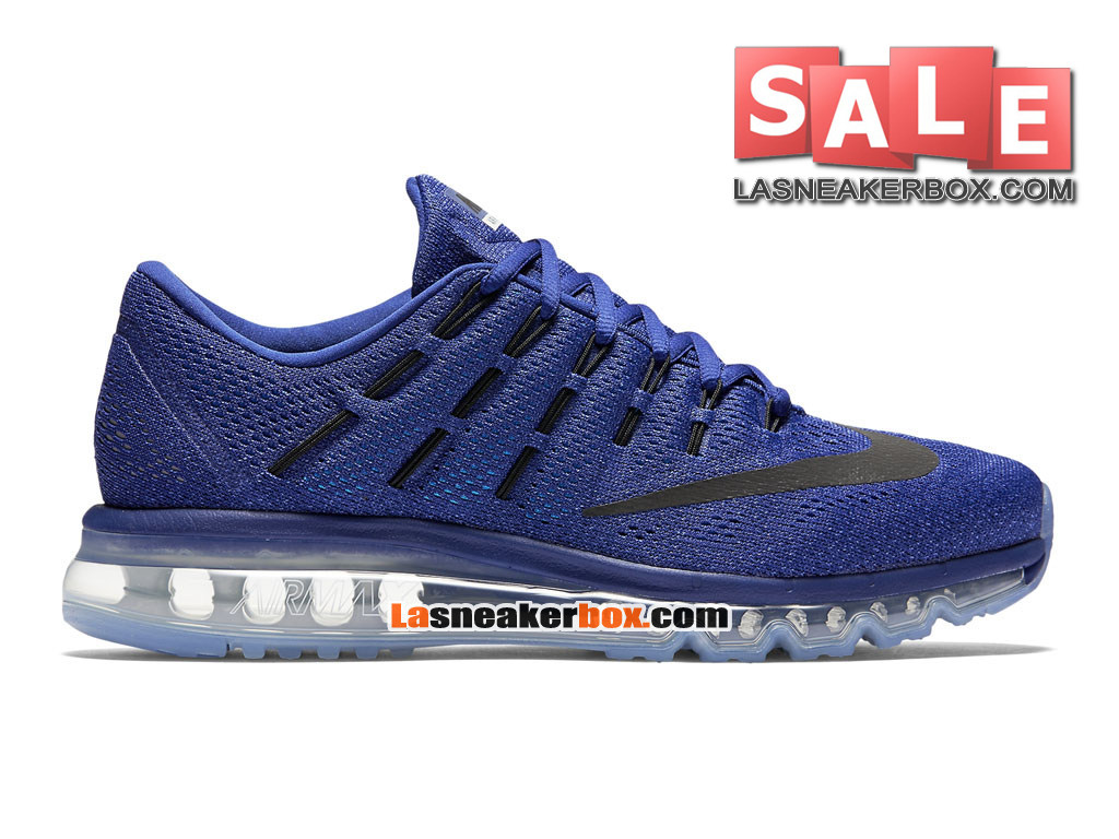 Nike Air Max 2016 - Chaussure Nike Running Pas Cher Pour Homme Bleu royal profond/ ...