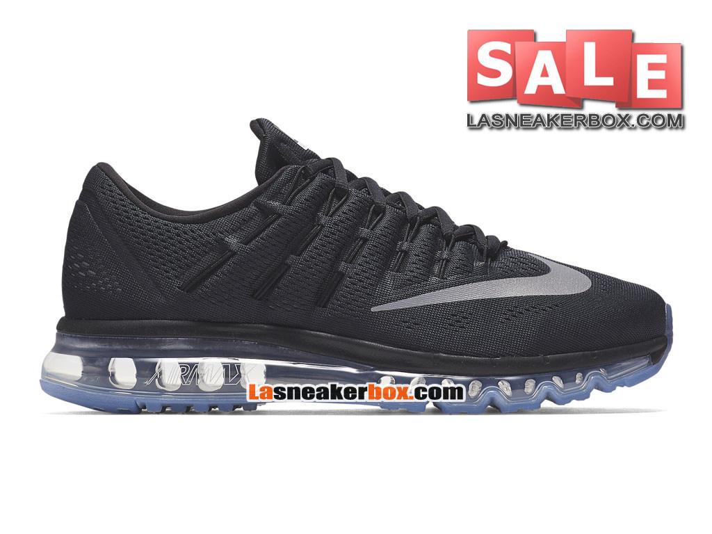 quality design c4067 6e926 Nike Air Max 2016 - Chaussure Nike Running Pas Cher Pour Homme Noir Gris  foncé ...