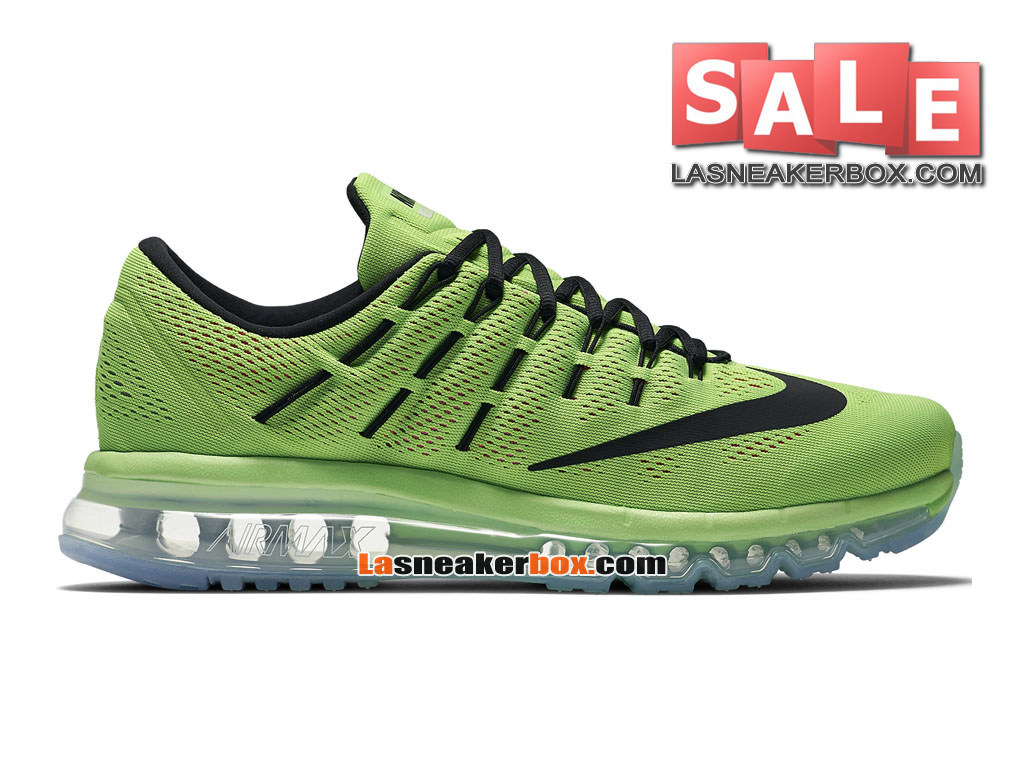 Nike Air Max 2016 - Men´s Nike Running Shoe Electric Green/Pink Blast