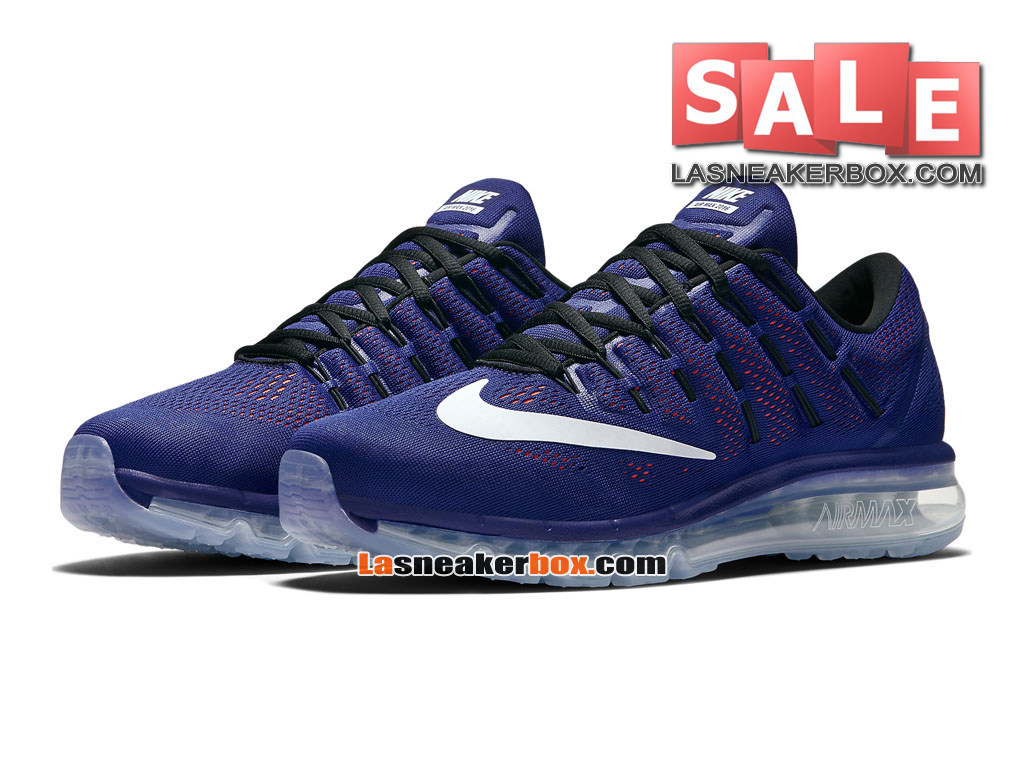 Nike Air Max 2016 Print Chaussure de Running Nike Pas Cher Pour Homme HarmonieBlancCramoisi totalNoir 806771 405 1611012343 Officiel de Chaussure
