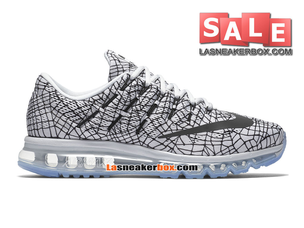 quality design dee1a 1eb3a Nike Air Max 2016 Print - Chaussure de Running Nike Pas Cher Pour Homme  Platine pur