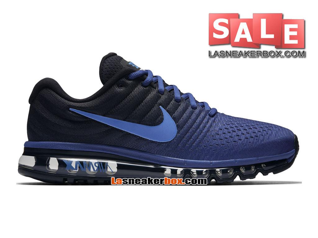 the best attitude 046e9 1e12e Nike Air Max 2017 - Men´s Nike Running Shoe Deep Royal Blue Black