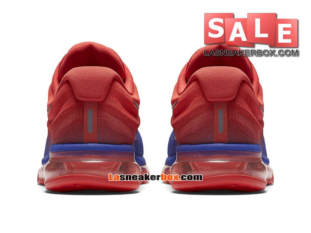 b8fb2d33a36 ... Nike Air Max 2017 - Chaussure de Nike Running Pas Cher Pour Homme Bleu  souverain