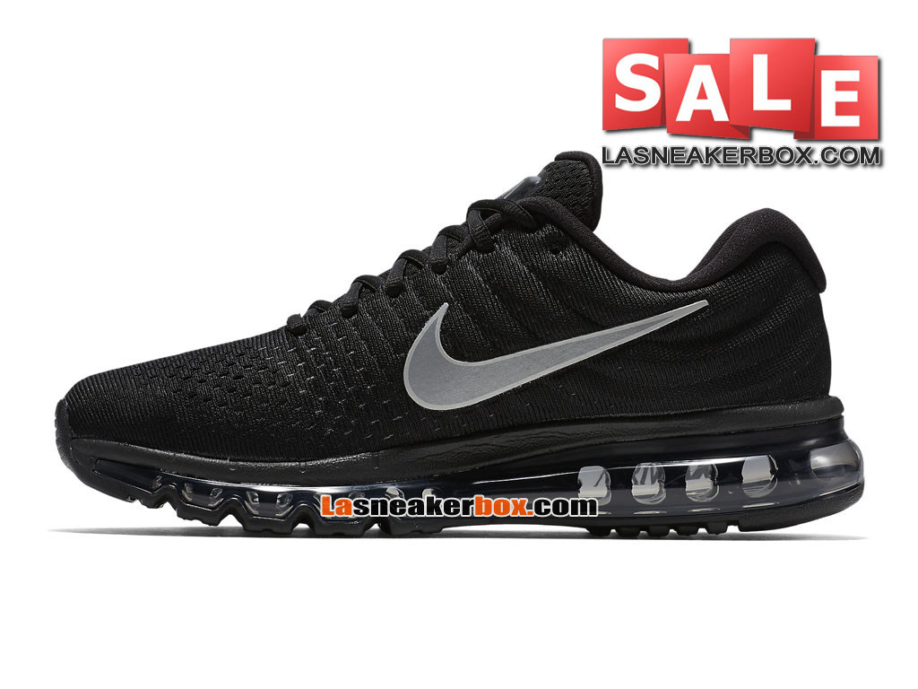 new concept fe47c 09b2f ... Nike Air Max 2017 - Men´s Nike Running Shoe BlackAnthraciteWhite ...