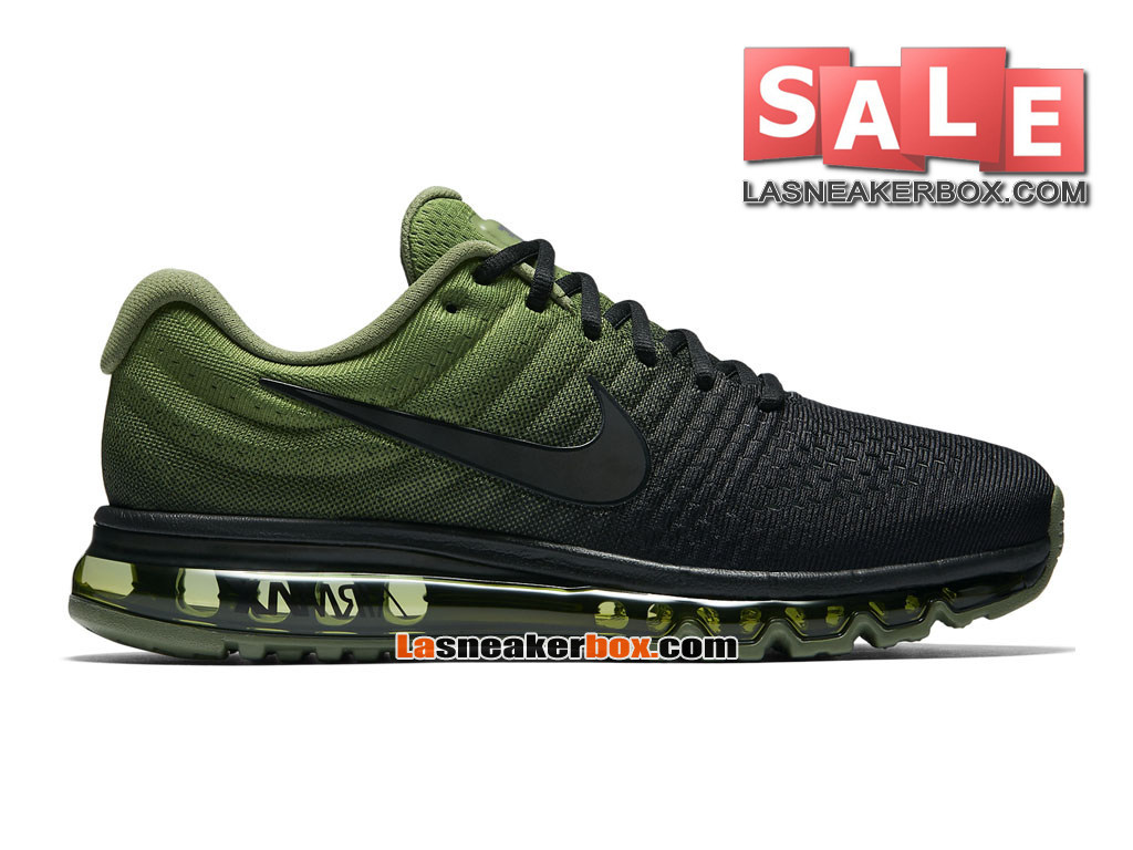 newest adcf9 e8481 Nike Air Max 2017 - Men´s Nike Running Shoe Black Palm Green  ...